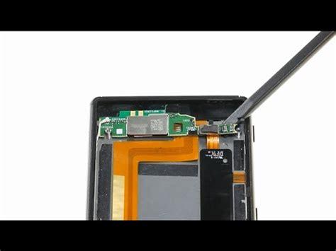 sony xperia m4 aqua microphone board repair guide