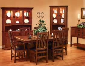 Mission Dining Room Furniture by Mission Style Bedroom Furniture By Schrocks Of Walnut