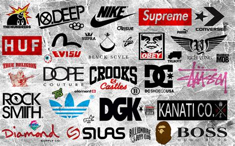 clothes brand clothing brand logos streetwear lifestyle brand logos