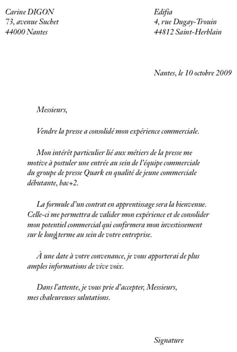 Lettre De Motivation Vendeuse Alternance Exemple Lettre De Motivation Licence Alternance
