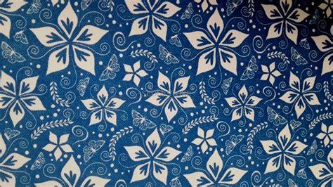 jual hot promo wallpaper murah motif batik kupu biru