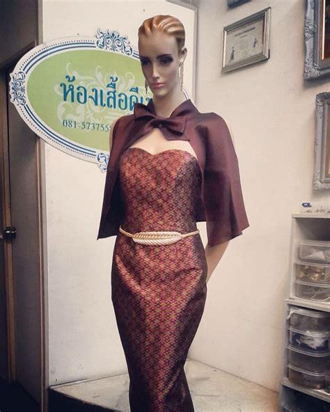 pembekal dress dari thailand 75 best ช ดผ าไหม thai silk images on pinterest thai