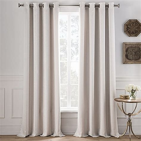 stripe grommet curtain panels cole stripe grommet top window curtain panel bed bath