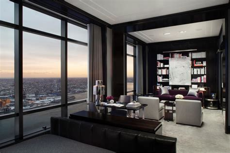 awesome home office awesome home office with view at modern penthouse 77b