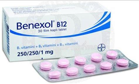 benexol b1 b6 b12 30 comprimidos b12 vitamini eksikliği hayattan zevk alamama kizlarsoruyor