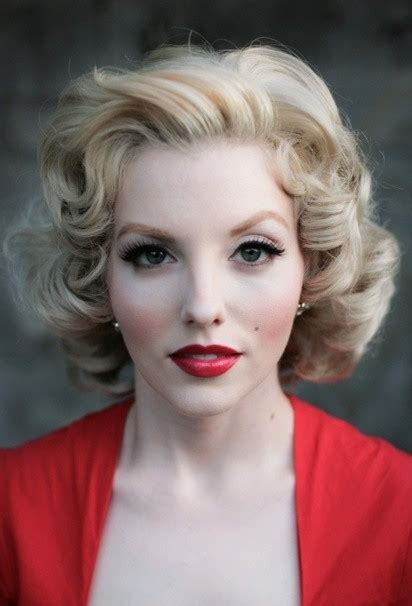 pin up hairstyles for vintage looks stylewe