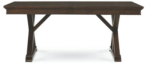 Extendable Trestle Table by Thatcher Extendable Trestle Table From Legacy Classic
