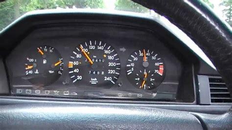 Mercy Mercedes Mbenz M mercedes 300ce w124 1991 testdrive acceleration