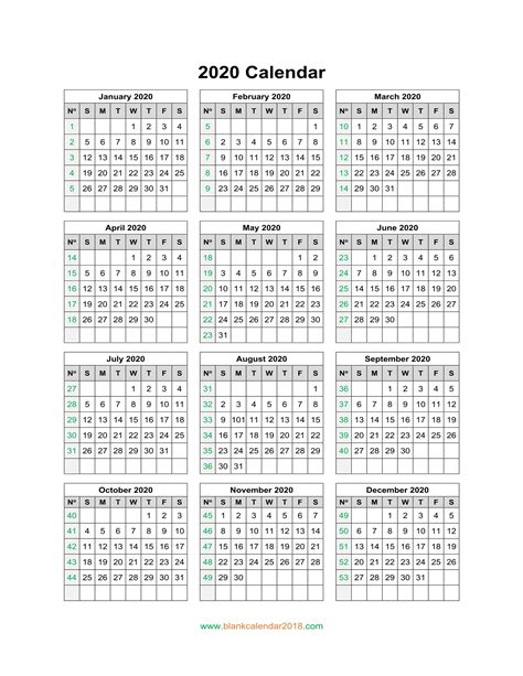 blank calendar  portrait