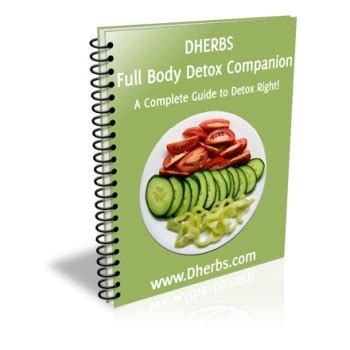 Dherbs Detox Formula by Cleanse Companion Ebook Cleanse