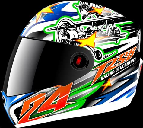 design helmet asia steelbird helmets to be styled by bargy design