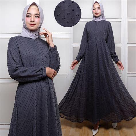 Gamis Anak Rubiah baju gamis polos terbaru rubiah maxi trend busana muslim