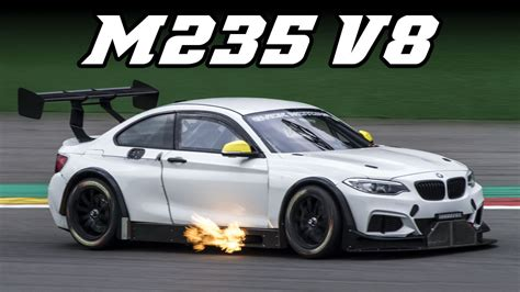 Cheap Cars With V8 by Bmw M235i V8 Big Flames Marc Cars Conversion