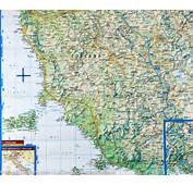 Carte Routi&232re De La Toscane – Plastifi&233e  Borch Map