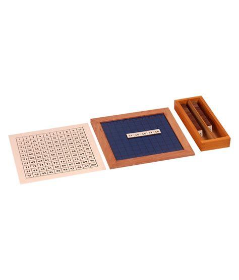 printable montessori hundred board kidken montessori hundred board buy kidken montessori