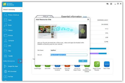 mobile go for android top android pc suite for android mac linux and windows