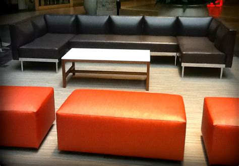 benches and ottomans for commercial spaces jeffrey braun