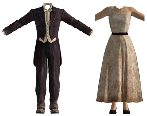 Dress Wipi formal wear fallout new vegas fallout wiki fandom