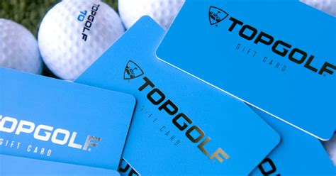 Golf Gift Cards - gift cards topgolf