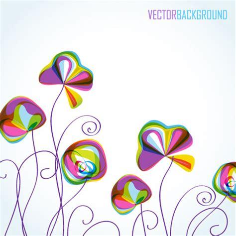 imagenes vectores colores patr 168 174 n de colores de flores de fondo 04 vector de