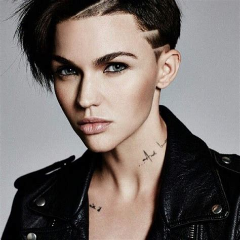 ruby rose hair pinterest actress ruby rose of quot orange is the new black