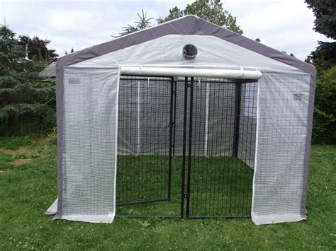 dog house cover kennel roof e dog kennel covers 10 x 10 med pitch 3 truss