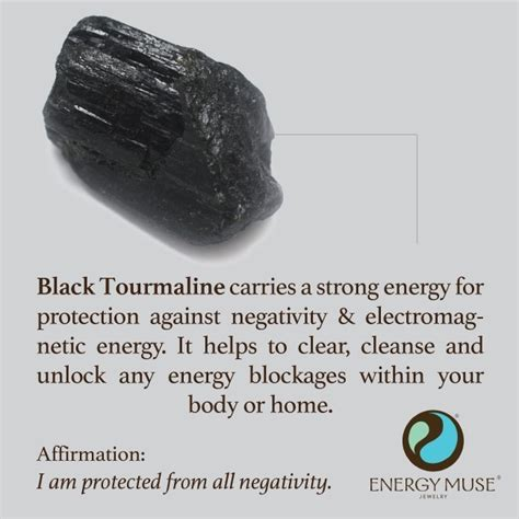 Selenite L Benefits by Black Tourmaline View The Best Black Tourmaline From Energy Muse