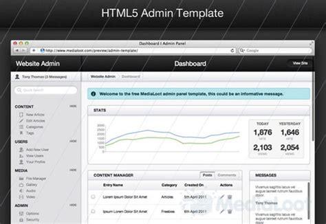 admin area template html5とcss3でデザインされた無料テンプレート素材15個まとめ psdファイル付 photoshopvip