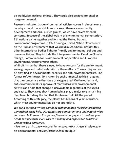 Environmental Essays by Environmental Essay Inhisstepsmo Web Fc2