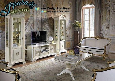 Asli Murah A 056 Apron meja tv minimalis modern mewah bt 056 lemari hias minimalis jati murah terbaru set lemari hias