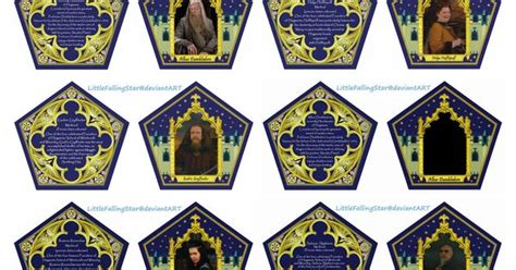 Harry Potter Chocolate Frog Cards Templates by Chocolate Frog Card By Littlefallingstar On Deviantart