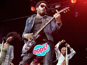 Lenny kravitz ripped trousers