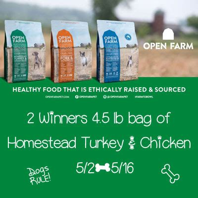 open farm dog food giveaway jamericanspice - Dog Food Giveaway