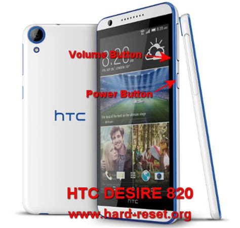 how to easily master format htc desire 820 (dual) with