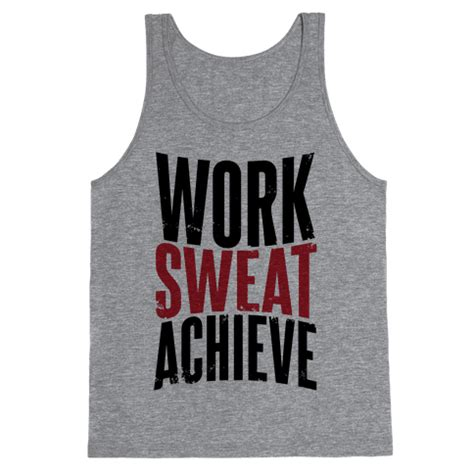 Hoodie Wanita No Shorcuts Work For It work sweat achieve tank top human
