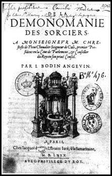 Panteón de Juda: De la démonomanie des sorciers: Jean Bodin