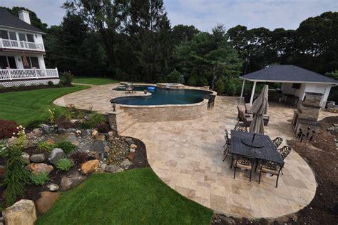 travertine pavers pool patio driveway walkway