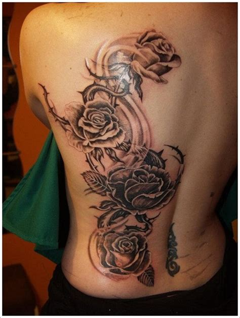 mens rose tattoo ideas designs for and 29