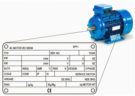 3 Phase Motor Nameplate Information Impremedia Net