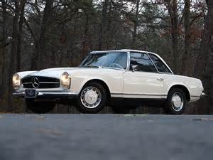 Mercedes 230sl Pagoda 1963 Mercedes 230sl Pagoda Milestones