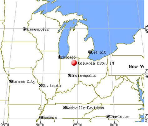 columbia city, indiana (in 46725) profile: population