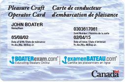 boating license bc replacement pleasure craft operator card faq