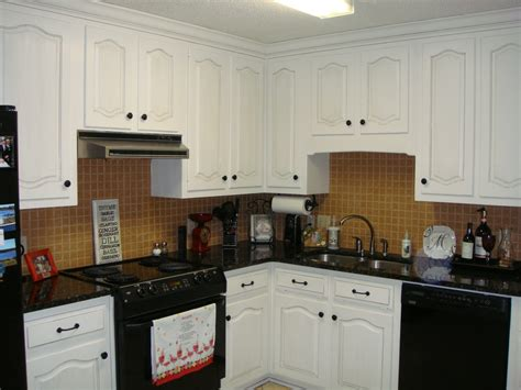 Black Kitchen Cabinets With White Appliances White Kitchen Cabinet Ideas With Black Appliances Nrtradiant