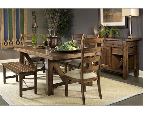 Fairmont Dining Room Sets Fairmont Designs Dining Room Set Turnbuckle Fa S4100 03set