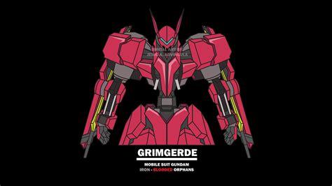 gundam ibo wallpaper gundam art ibo 2 grimgerde by advinjeric12 on deviantart
