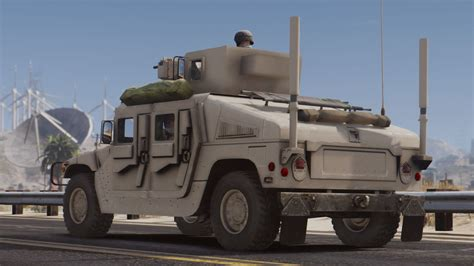 armored humvee m1114 up armored humvee add on gta5 mods com