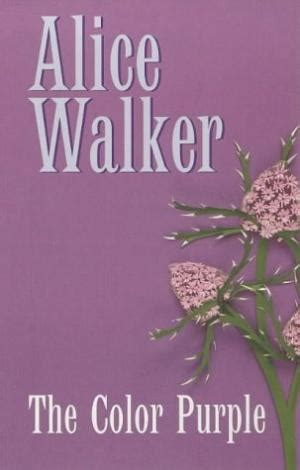 color purple book walker abebooks