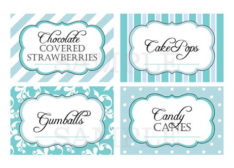 printable lollipop labels printable candy buffet labels for wedding or shower