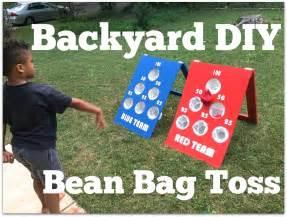 Backyard Bean Bag Toss by How To Make A Diy Backyard Bean Bag Toss