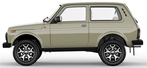Lada Niva Lada Niva 4x4 Turns 40 And Gets Special Editions As Part